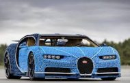 Lego Makes Life-Size Bugatti which can be Driven