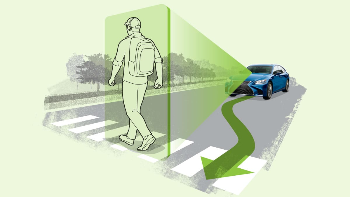 New Lexus LS Comes with Innovative Technologies to Make Pedestrians Safer