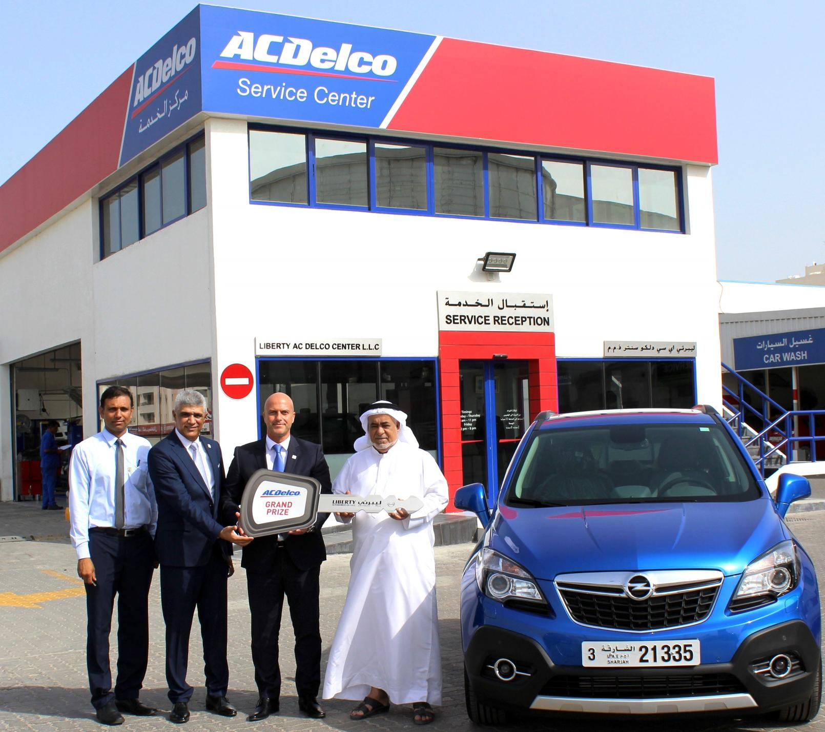 Liberty Automobiles Rewards ACDelco Customer with Grand Prize