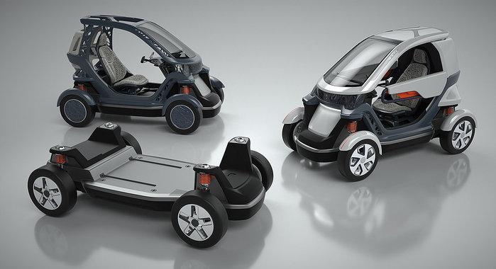 KLIO Design Develops Revolutionary Vehicle Design