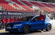 FC Barcelona Footballers Receive Audi Vehicles as Company Cars