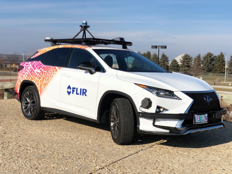 FLIR Systems Develops Thermal Sensor Camera Technology to Make Autonomous Cars More Viable