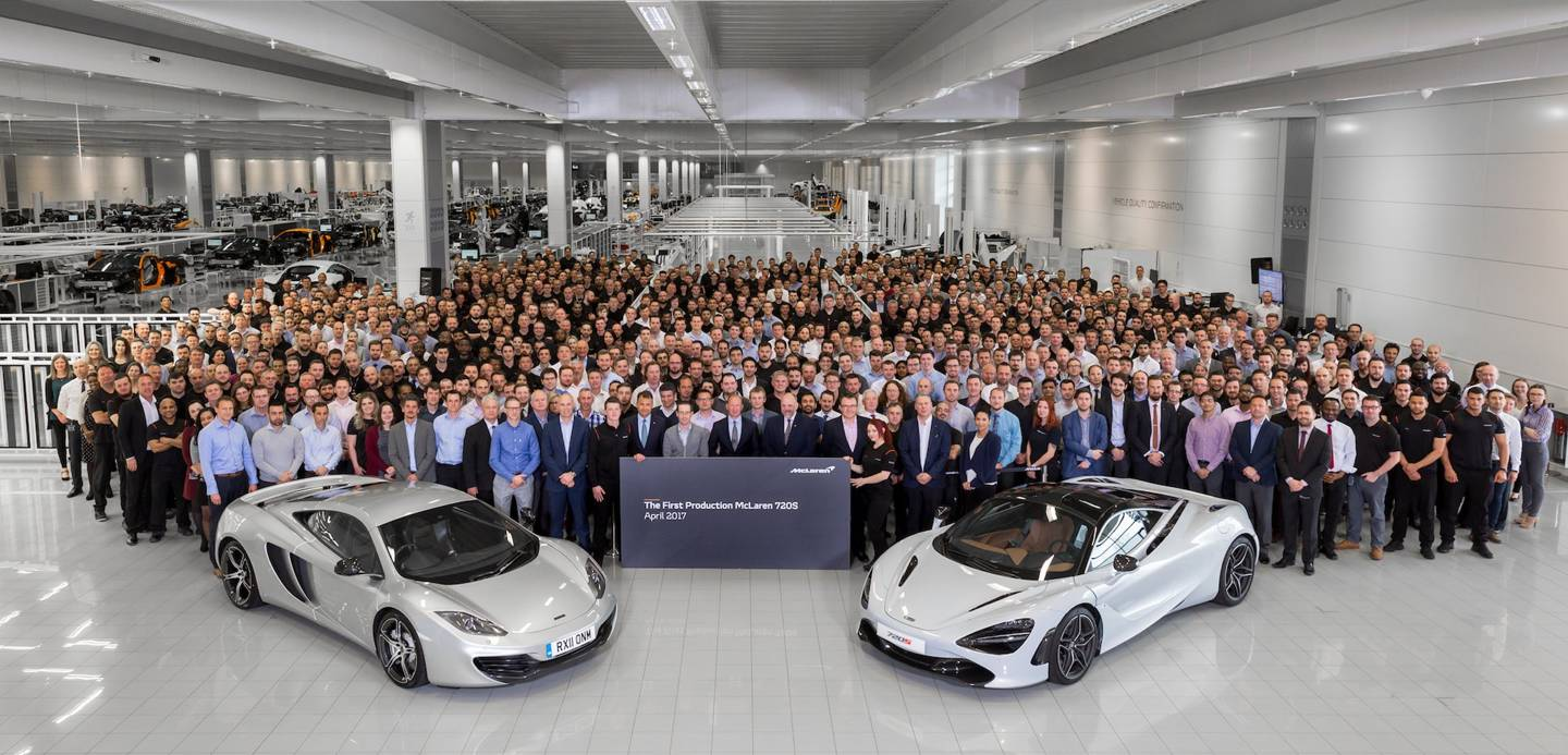 McLaren Automotive Begins New Era with Production of 720S