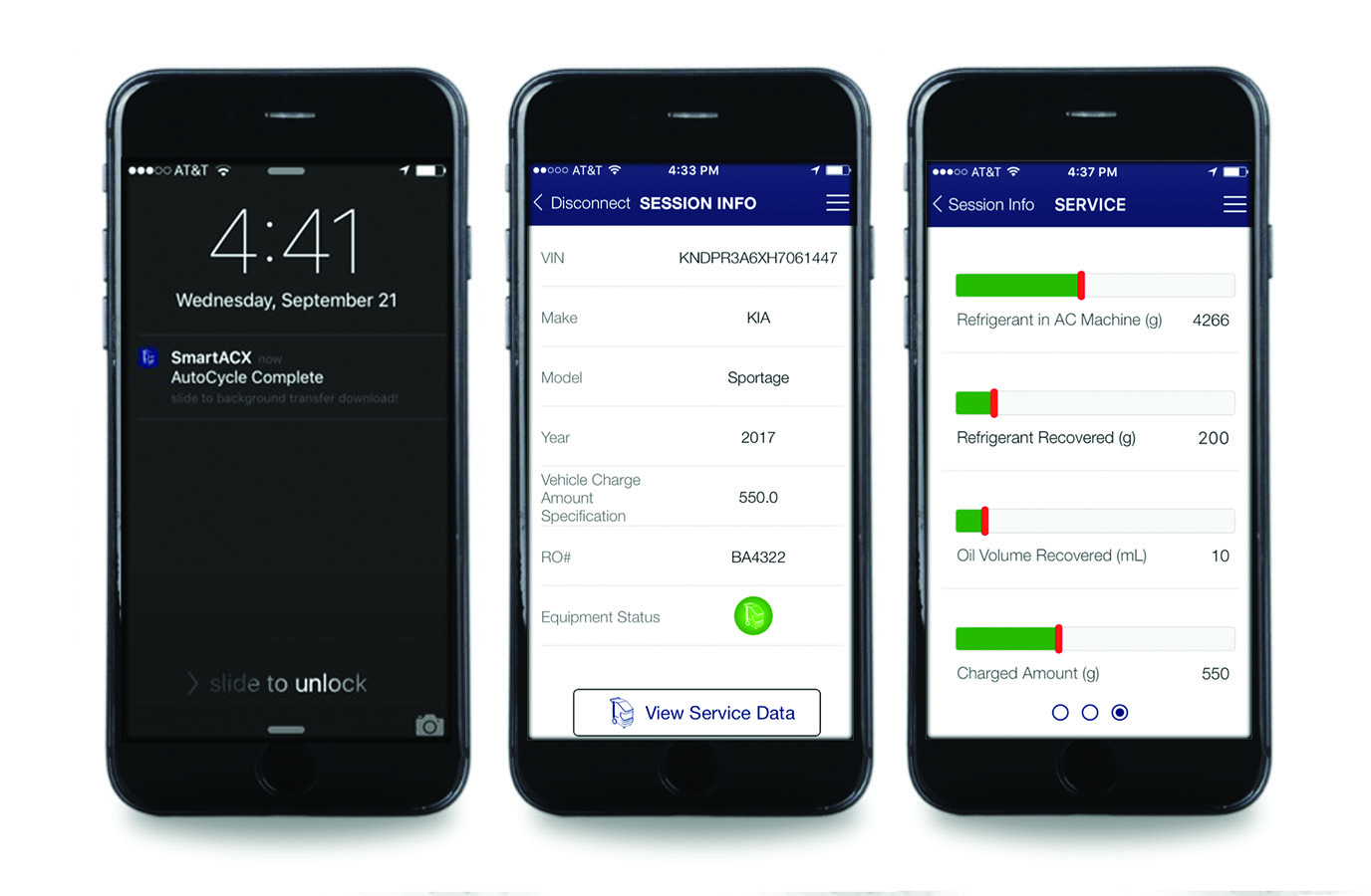 MAHLE Service Solutions Debuts SmartACX Smartphone Application