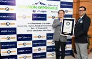 Hyundai KONA Electric Achieves Guinness World Records Feat