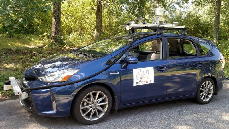 "MIT Team Develops ""Mapless"" Navigation Method for Self-driving Cars"