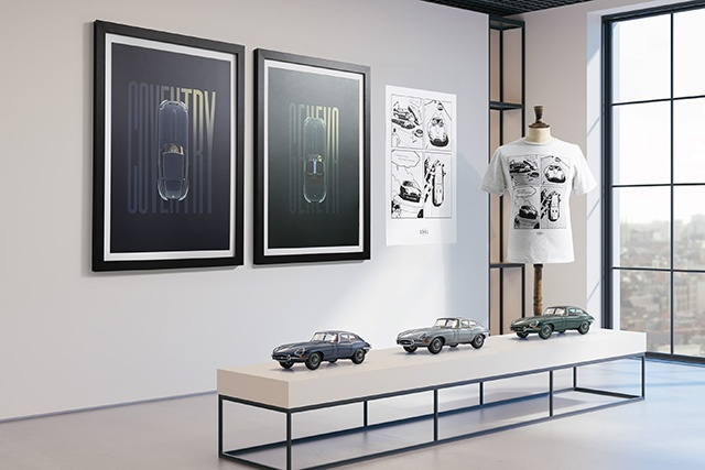 Classic Designer Gifts Celebrate 60 Years Of Jaguar's Iconic E-Type