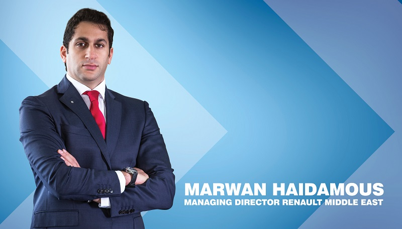 Interview with Marwan Haidamous, MD, Renault Middle East