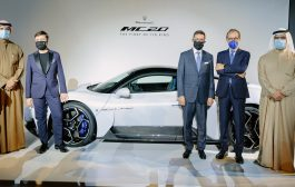 Maserati MC20 makes its regional debut in the UAE