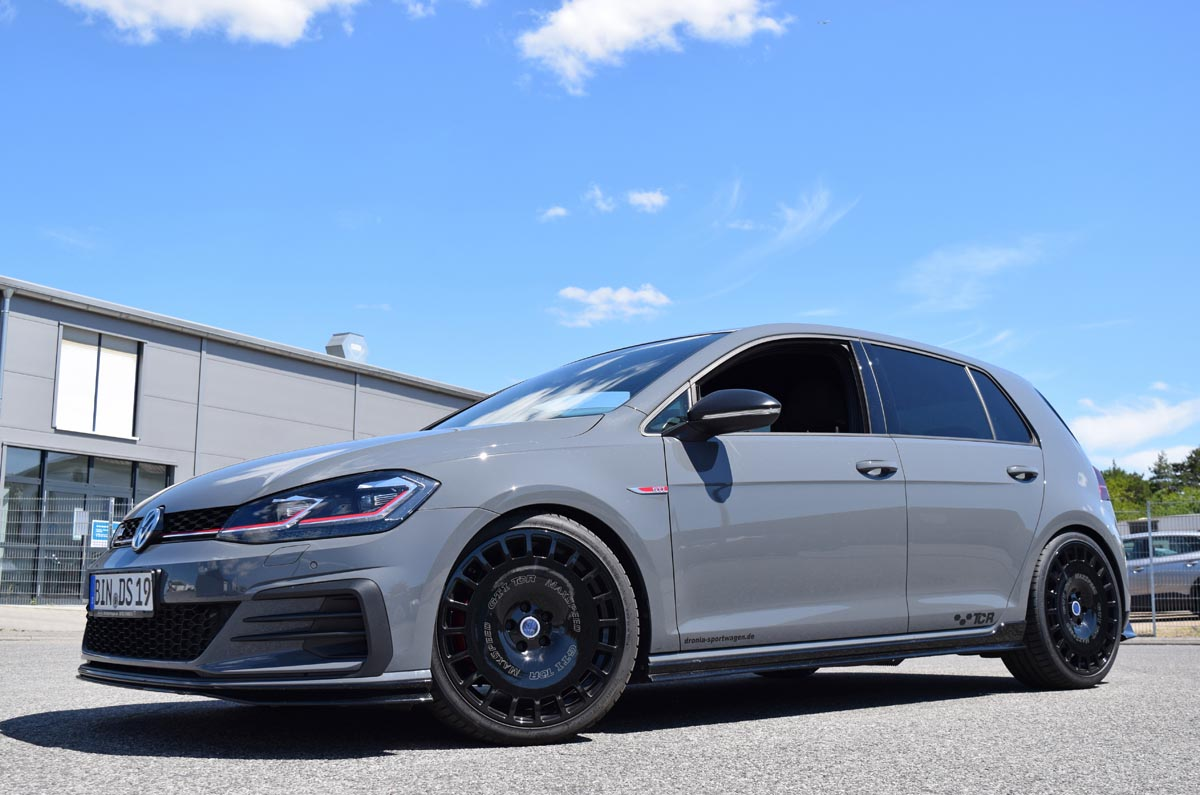 Power upgrade and performance suspension for a GTI TCR