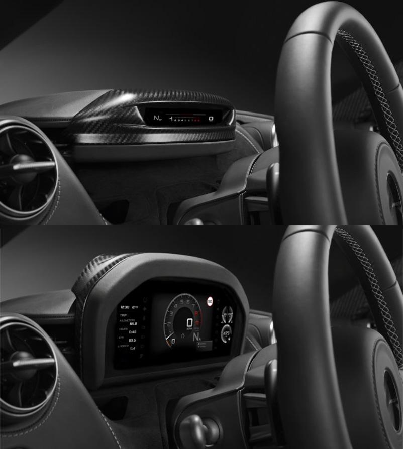 McLaren Develops Slim Display Mode for 720S