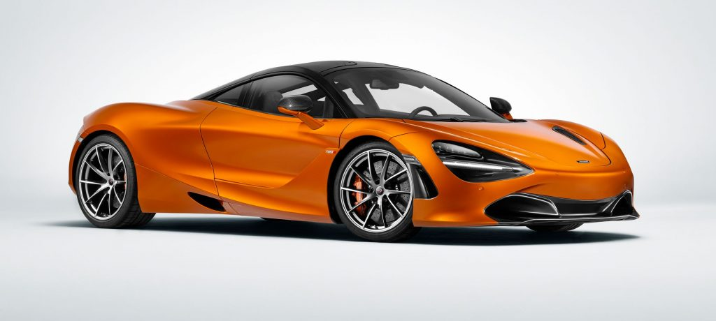 Customers can Design Personalized McLaren 720S Spider with Digital Configurator