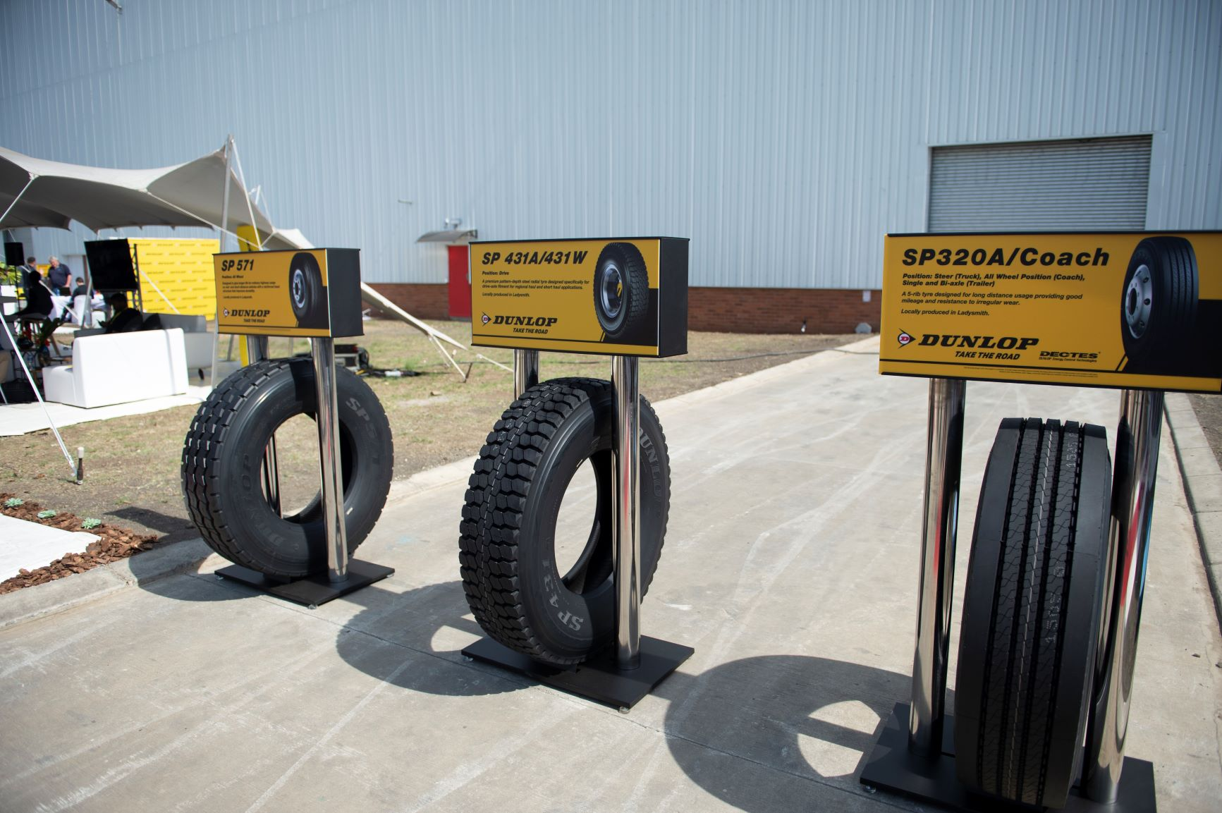 Sumitomo Rubber Formally Opens TBR Tire Production Facility in South Africa