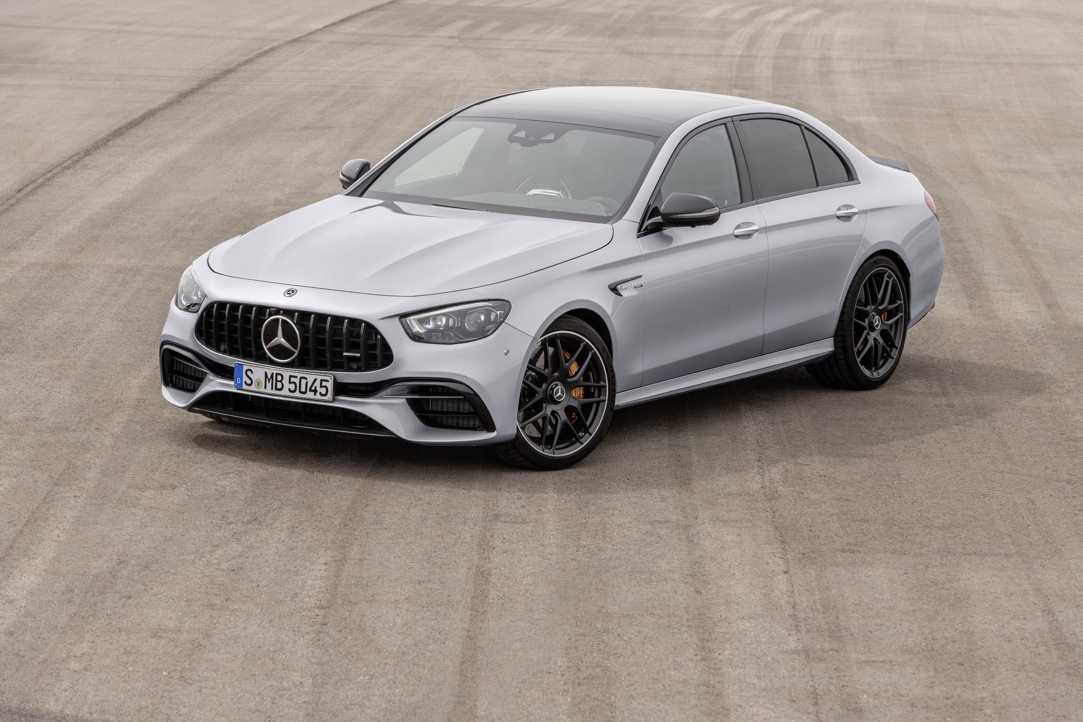 The new Mercedes-AMG E 63 S 4MATIC+ Sedan