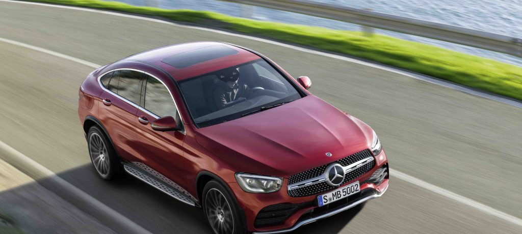 Mercedes-Benz Debuts GLC Coupe