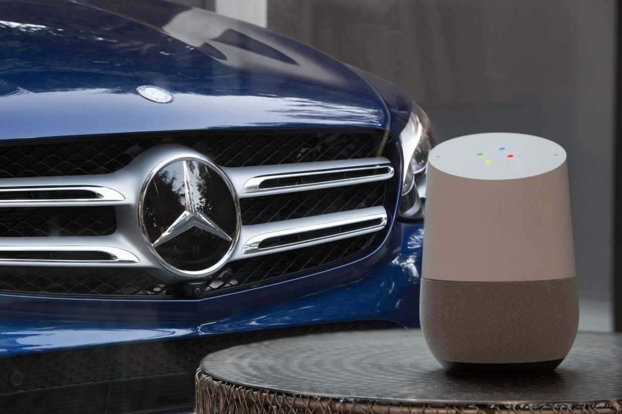 Mercedes-Benz Announces Integration of Google Assistant