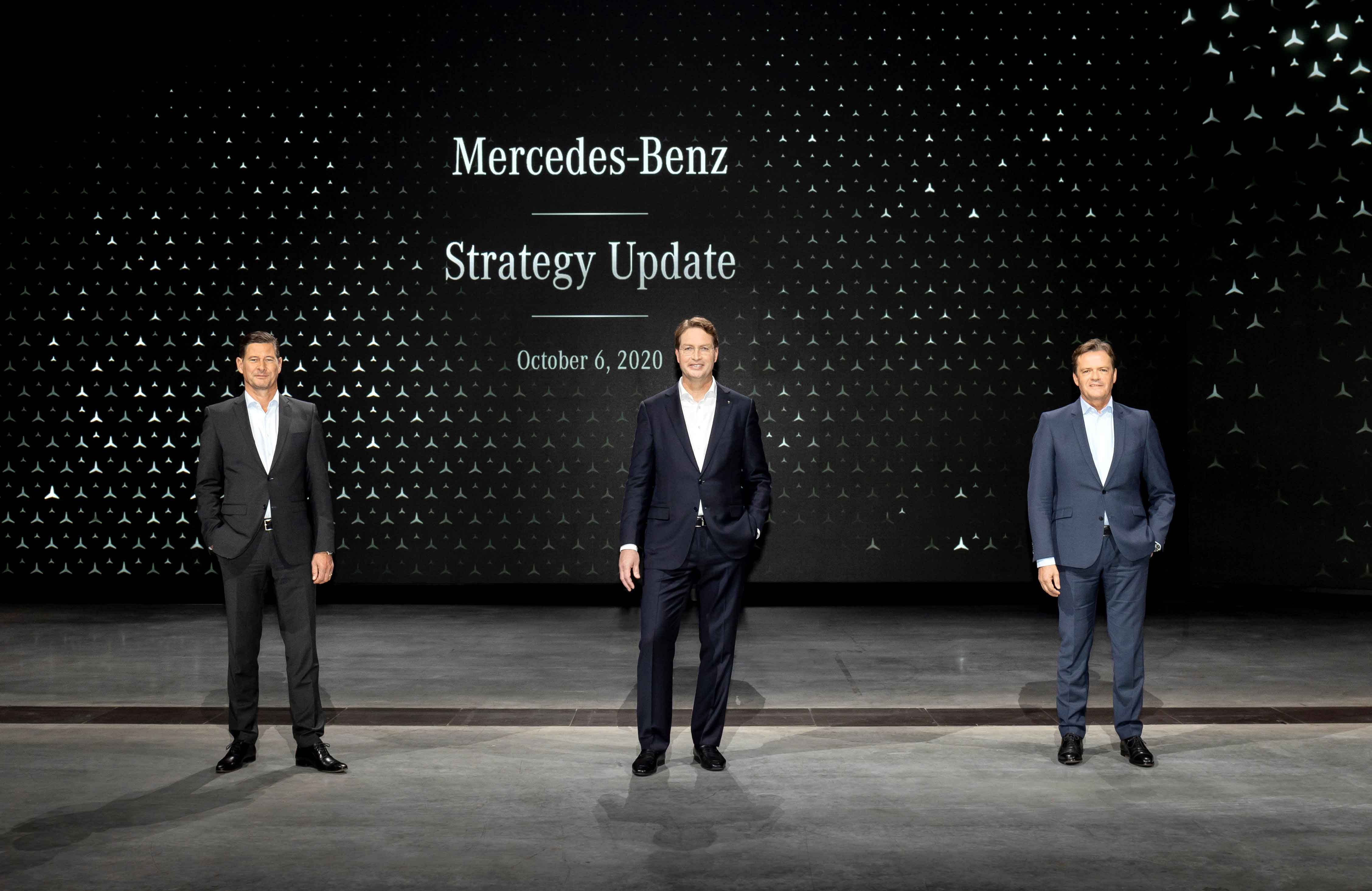 New Mercedes-Benz strategy announced