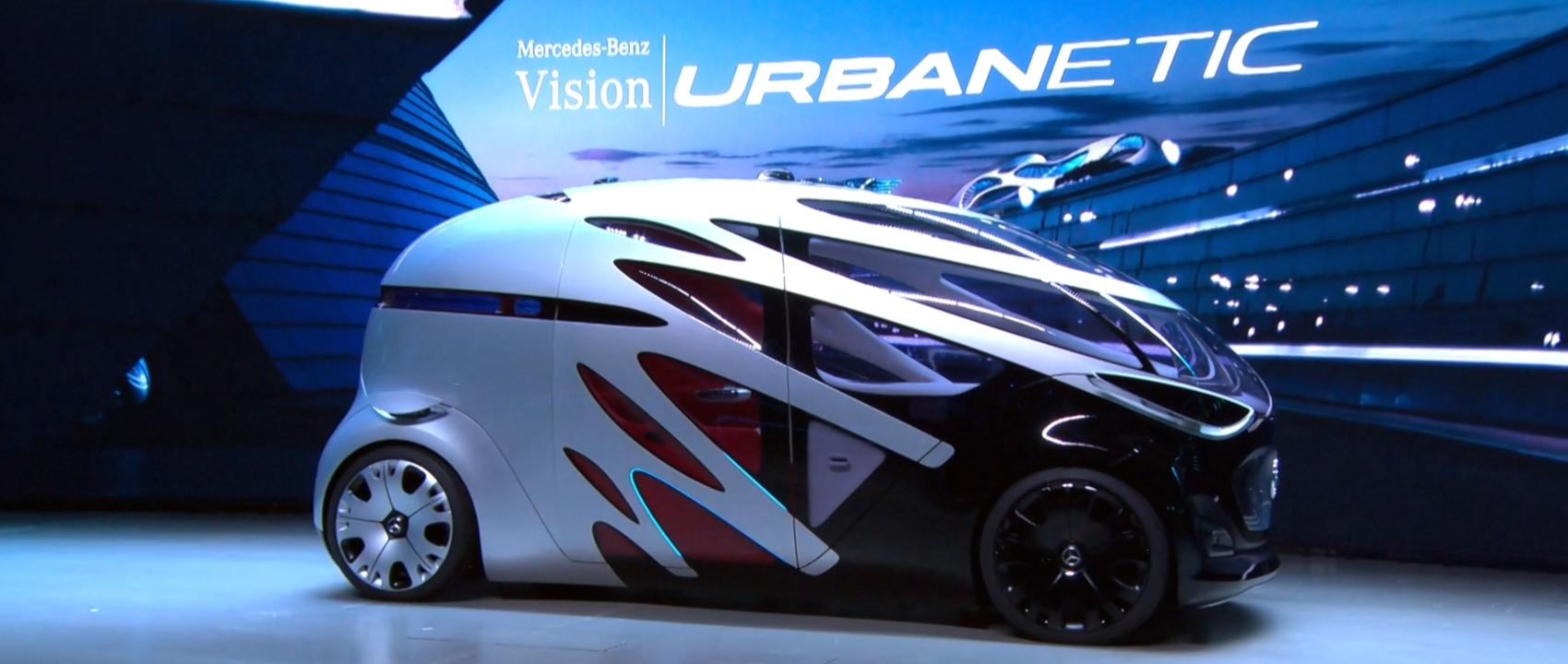 Mercedes-Benz Prepares for Future Mobility with Vision Urbanetic Van