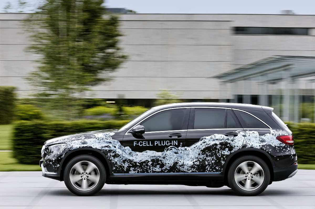 Mercedes to Unveil GLC Fuel Cell at Frankfurt Show