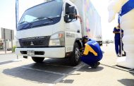 MicheIin organizes Tire Safety Campaign Along with Tasjeel RTA and Dubai Municipality