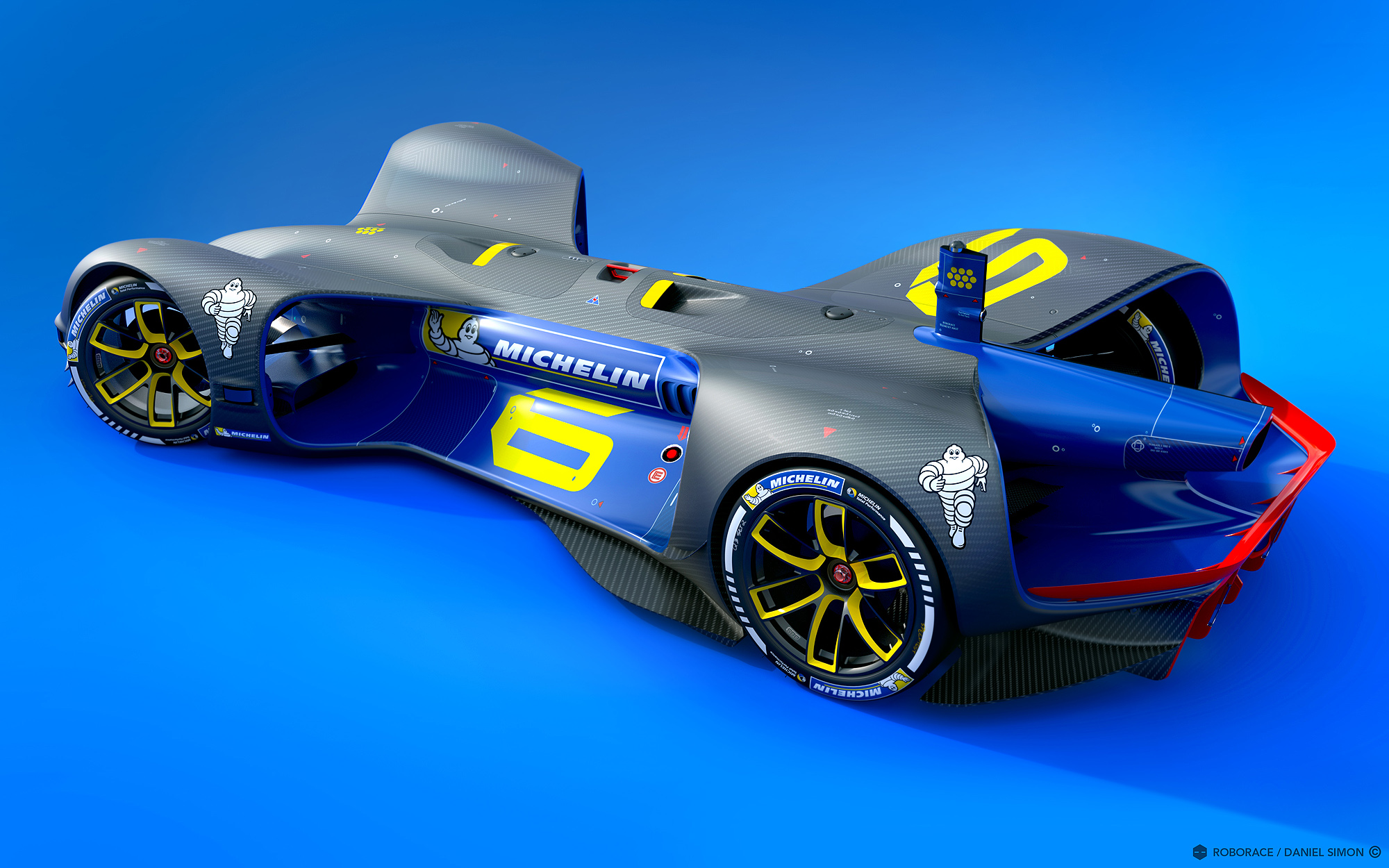 Roborace has named Michelin as the official tire partner for the event.