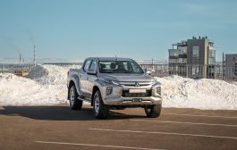 Mitsubishi L200 from the Arctic