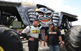"Bkt and the motor show in the  ""diesel brothers: monster jam® breaking world records"""