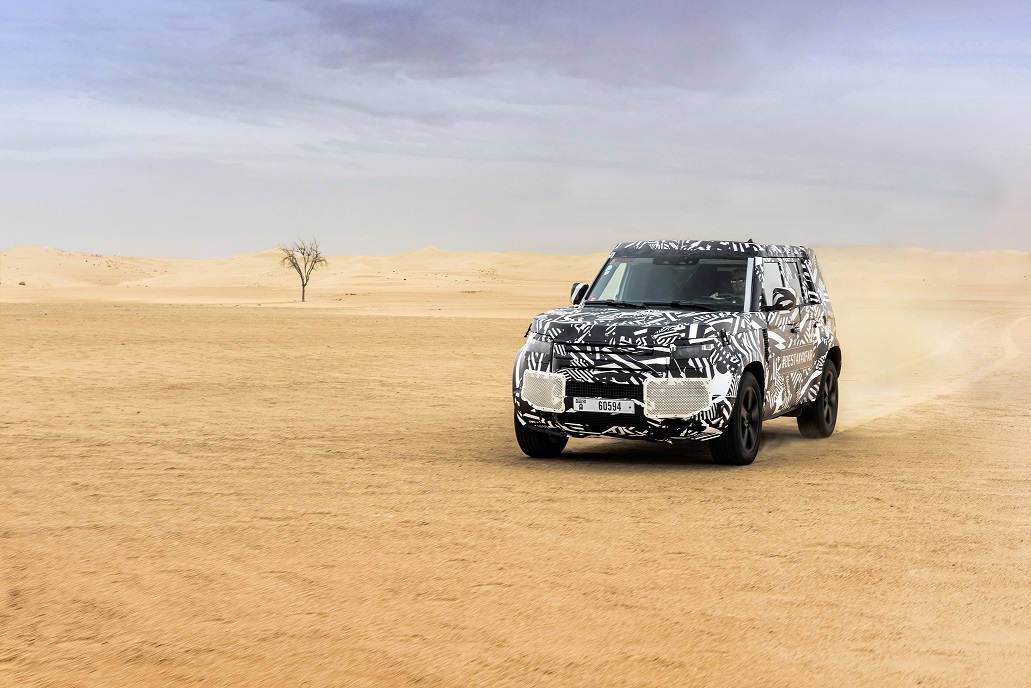 Land Rover Defender Achieves 1.2 Million Kilometer Test and Development Milestone