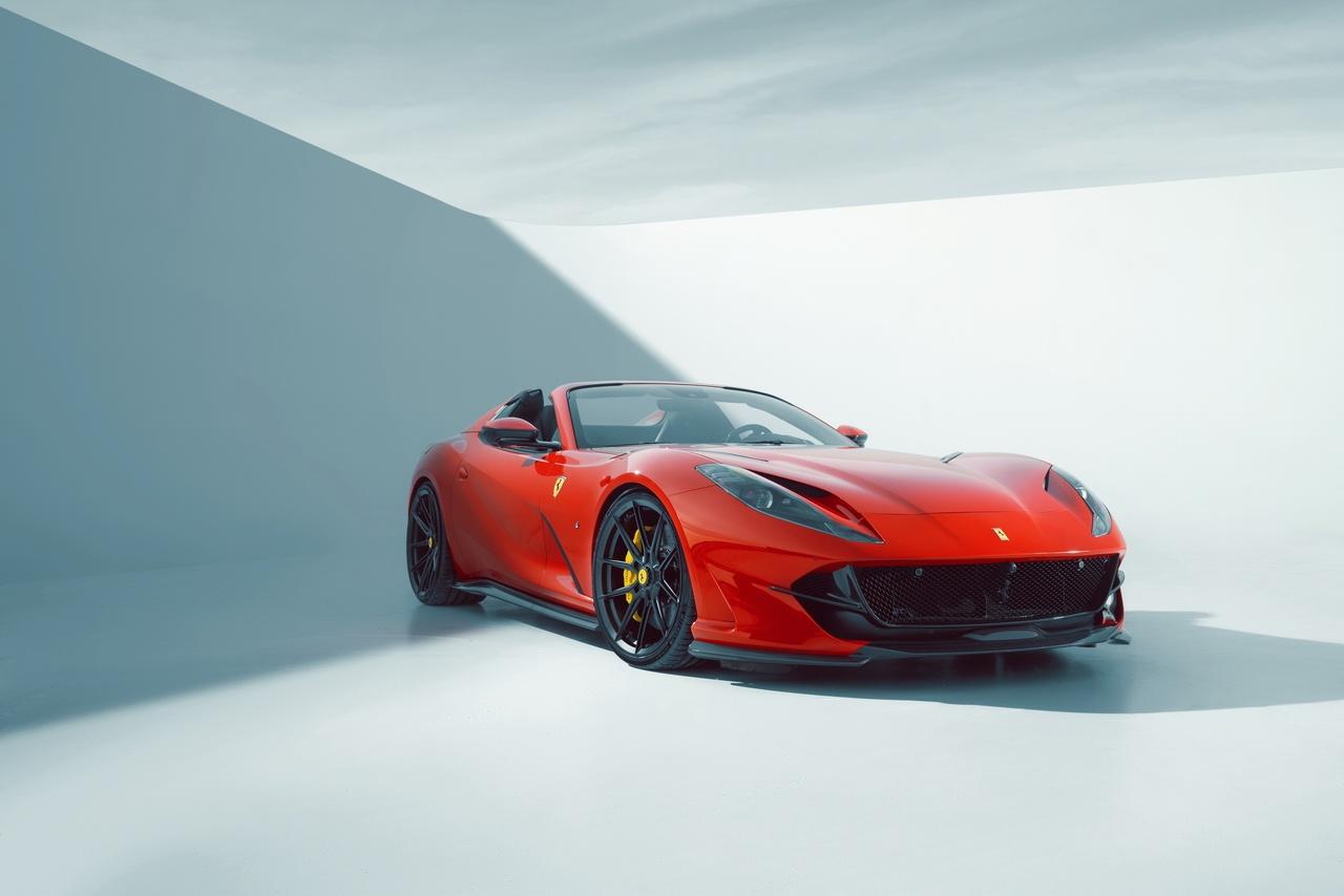 NOVITEC refines the Ferrari 812 GTS
