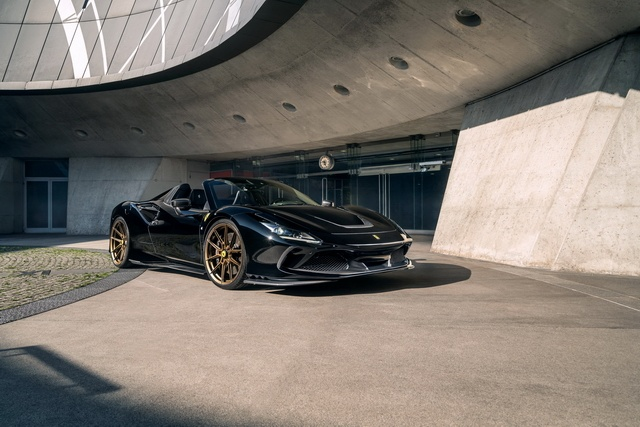 NOVITEC design and performance for the Ferrari F8 Spider