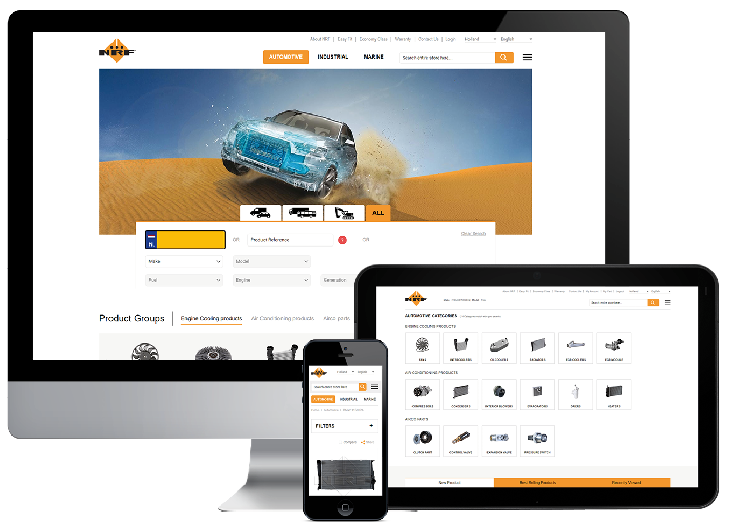 NRF Launches Unique Online E-Commerce Platform for Automotive Parts
