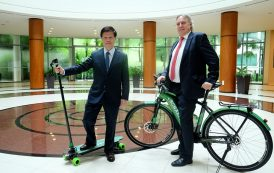 Schaeffler Sets Up Lab for Mobility Research in NTU Singapore
