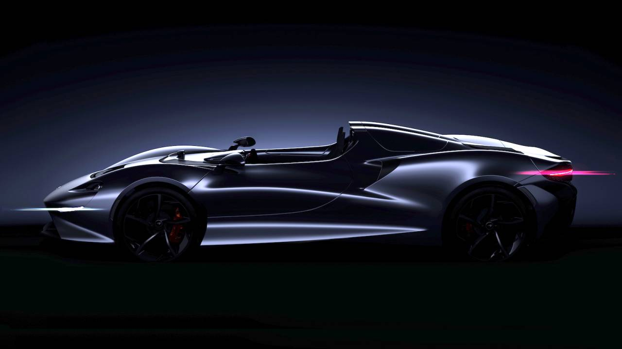 McLaren Offers Sneak Preview of Ultimate Series Roadster Supercar
