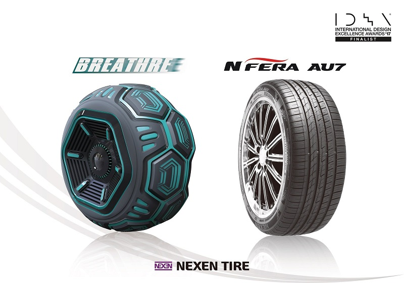 Nexen Tire wins two IDEA design awards