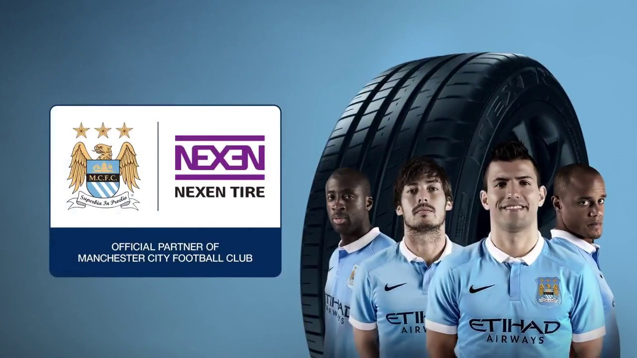 Nexen Tire Renews Sleeve Sponsorship of Manchester City Football Club