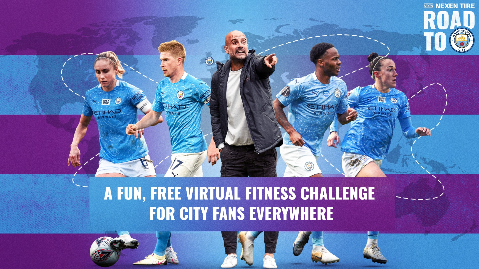 MANCHESTER CITY AND NEXEN TIRE BRING NEW VIRTUAL FITNESS CHALLENGE