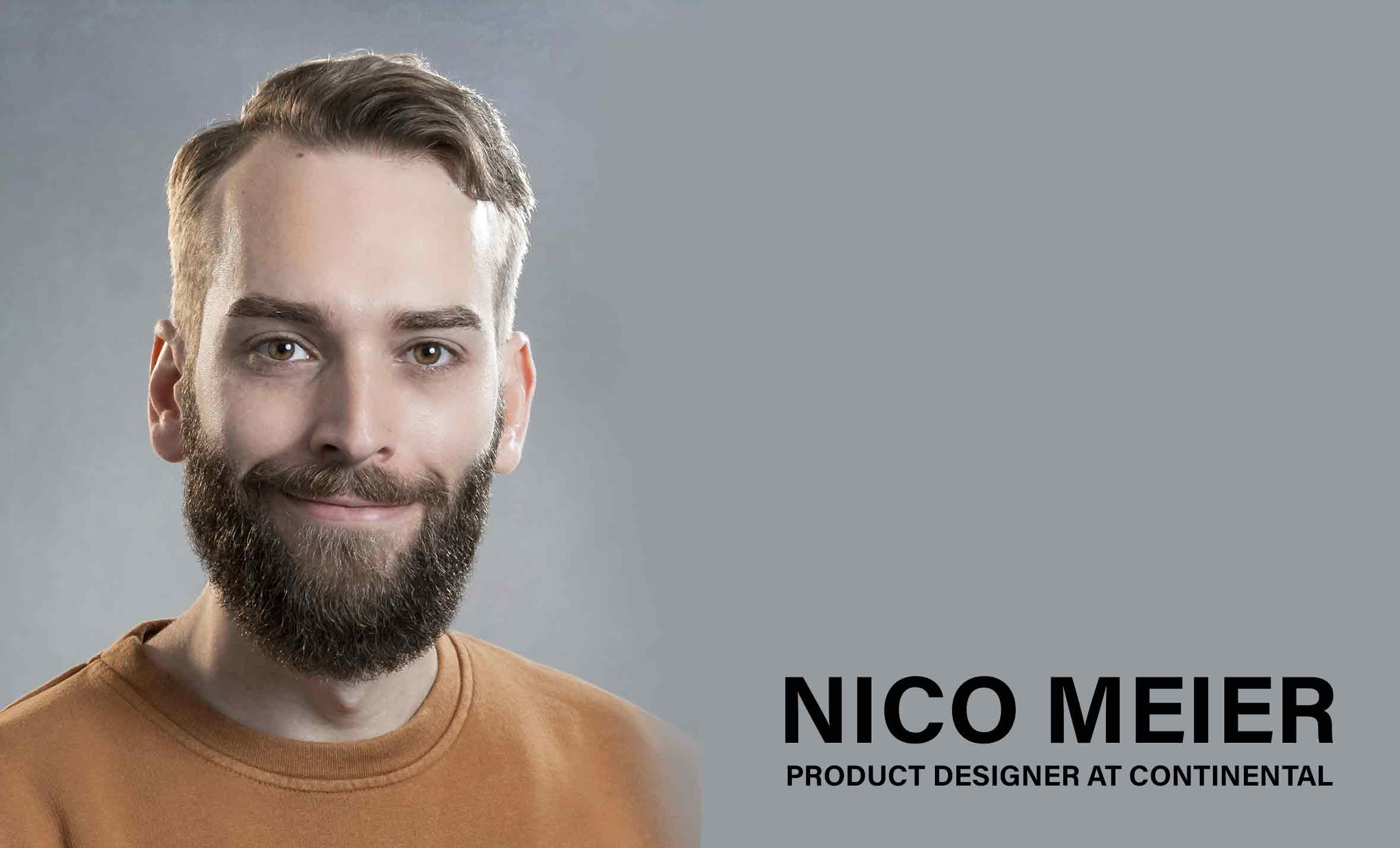 Interview with Nico Meier – Product designer at Continental