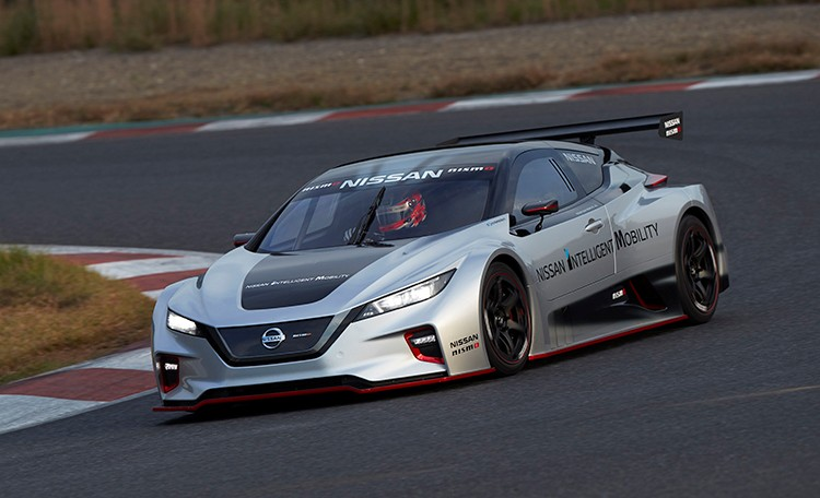 Nissan Launches All-new LEAF NISMO RC Electric Race Car