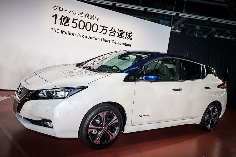 Nissan Celebrates Production Landmark of 150 million vehicles