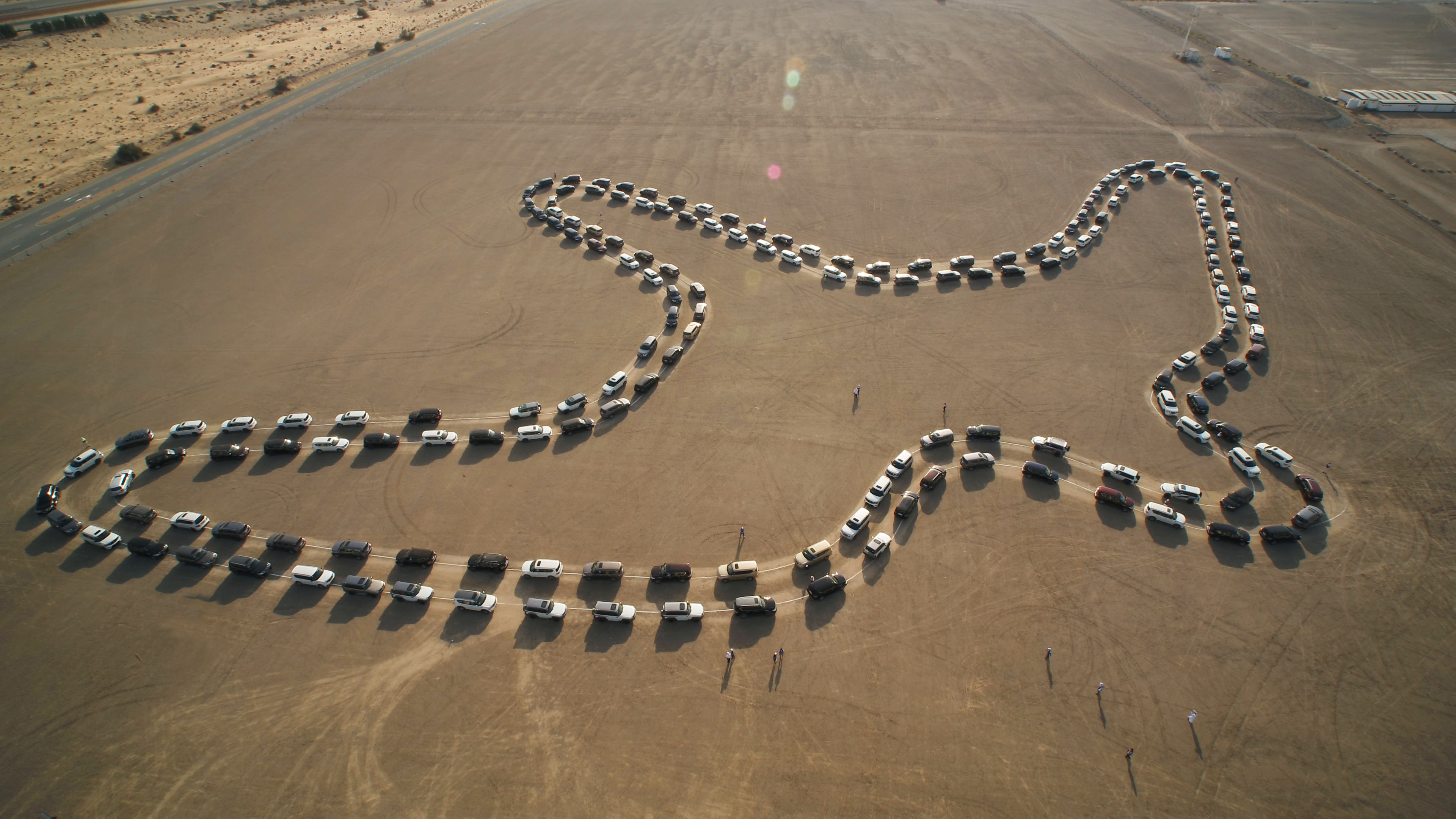 Nissan Patrol Breaks GUINNESS WORLD RECORDS title for Largest Synchronized Car Dance