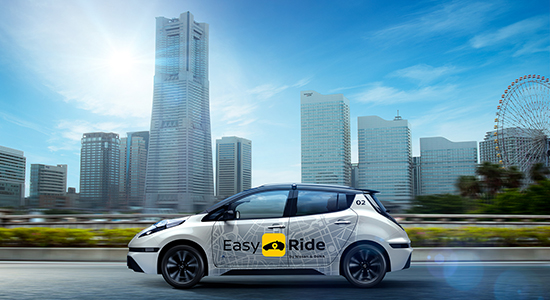 Nissan and DeNA Debuts Easy Ride Mobility Service