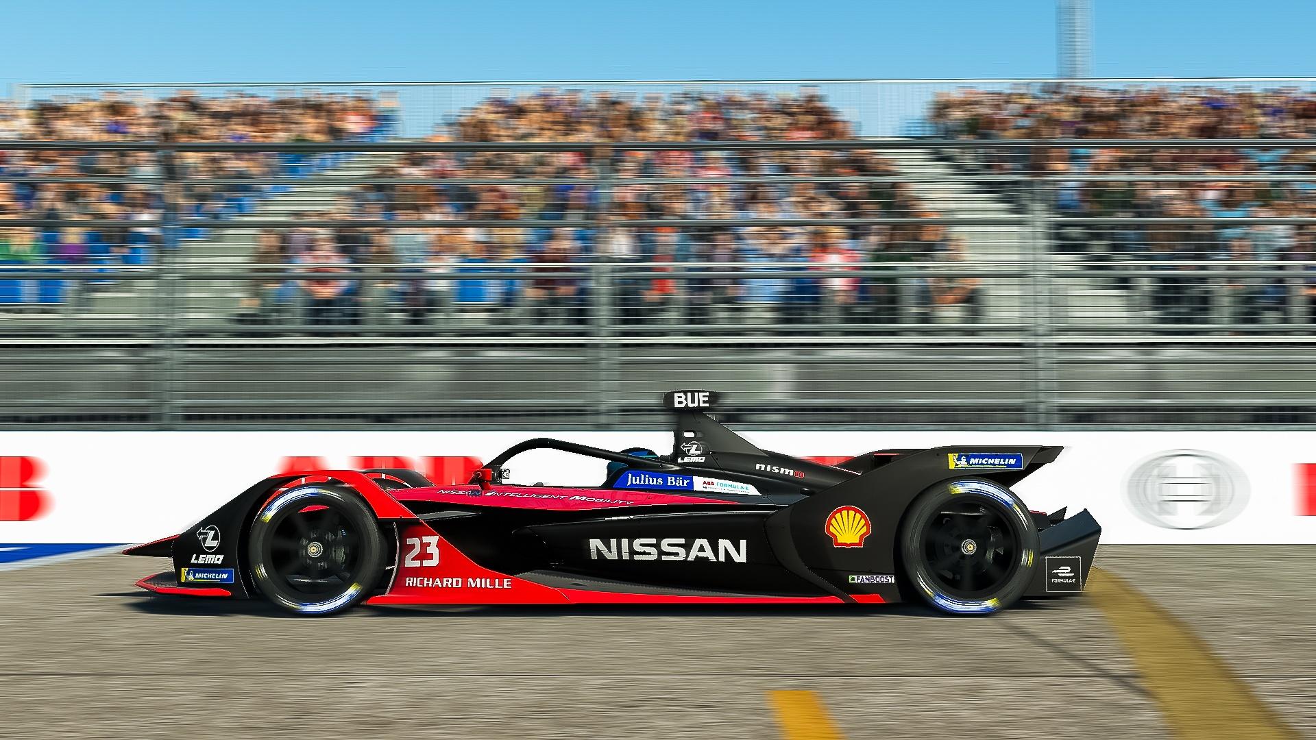 Nissan e.dams wins final round of ABB Formula E Race at Home Challenge