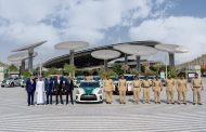 Nissan of Arabian Automobiles delivers fleet of cars to Dubai Police for Expo2020