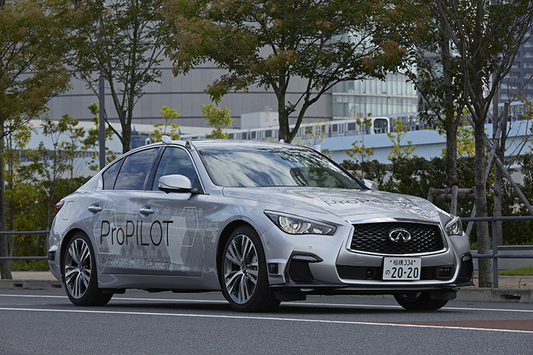 Nissan Tests Fully Autonomous Prototype Technology on Tokyo Streets