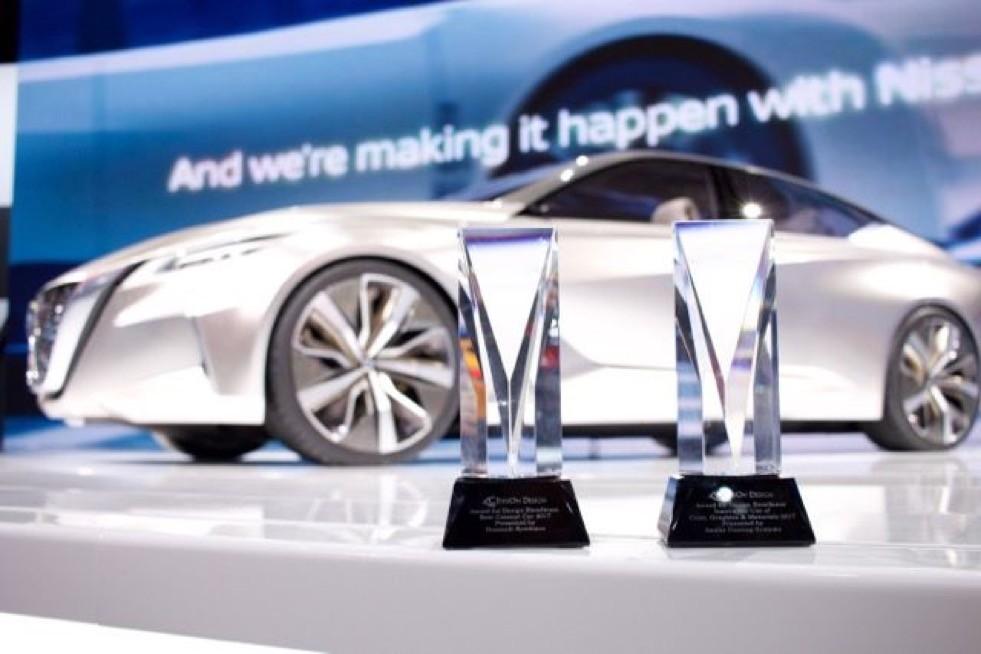 Nissan Vmotion 2.0 Wins EyesOn Design Award for Best Concept Vehicle
