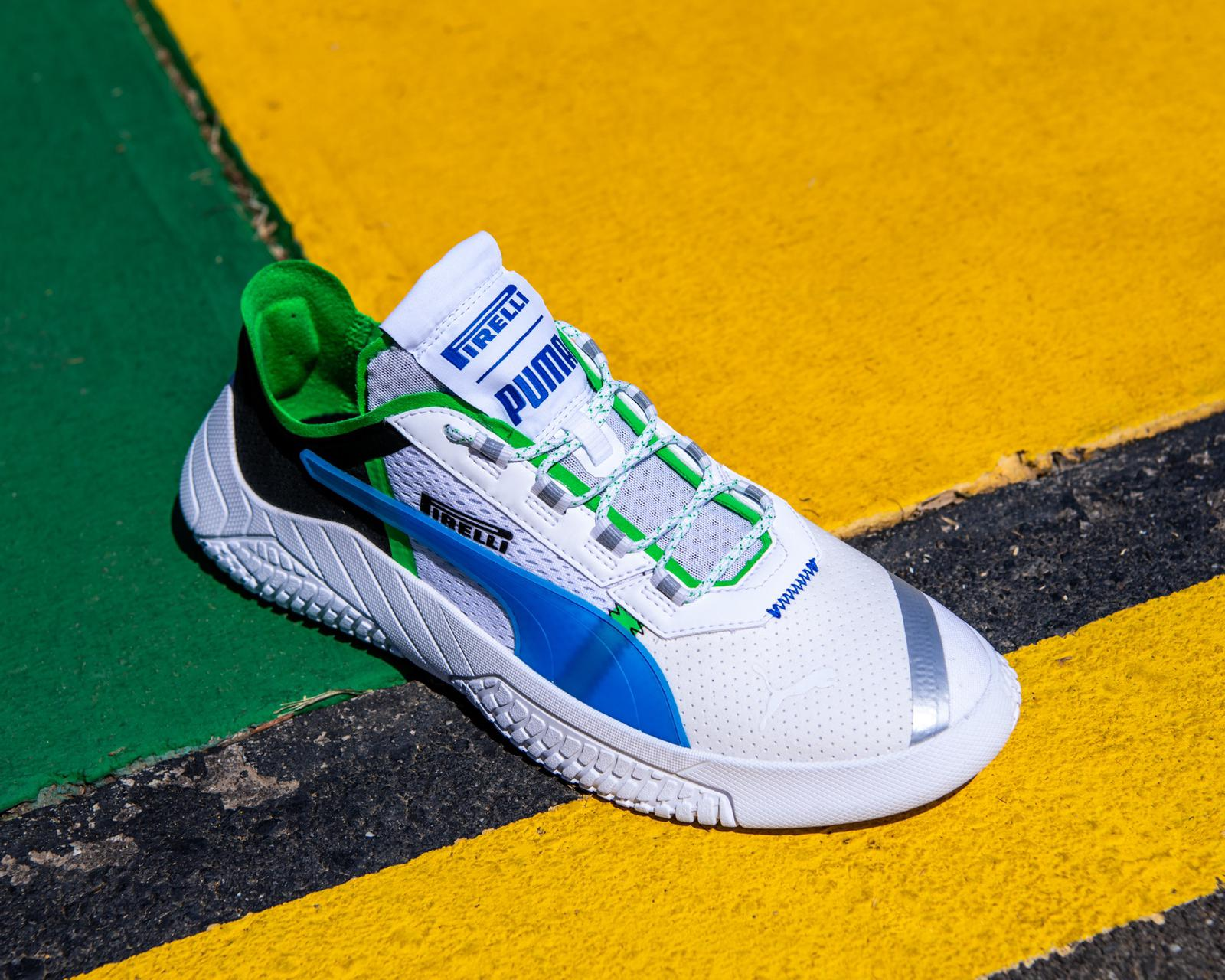 Pirelli Teams up with PUMA for Aerodynamic Shoes