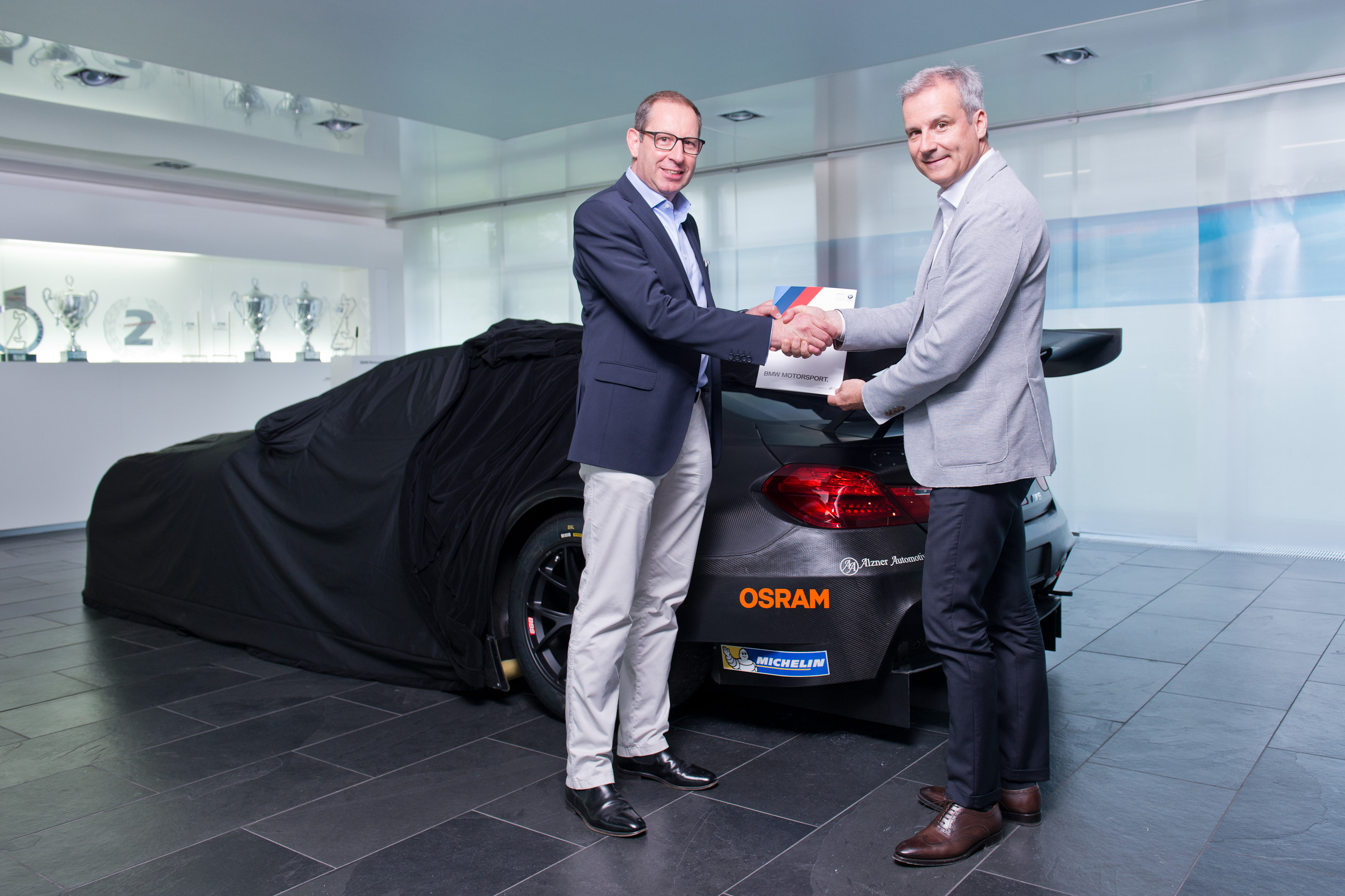 Light from Osram Adds to Top Form of BMW Motorsport team