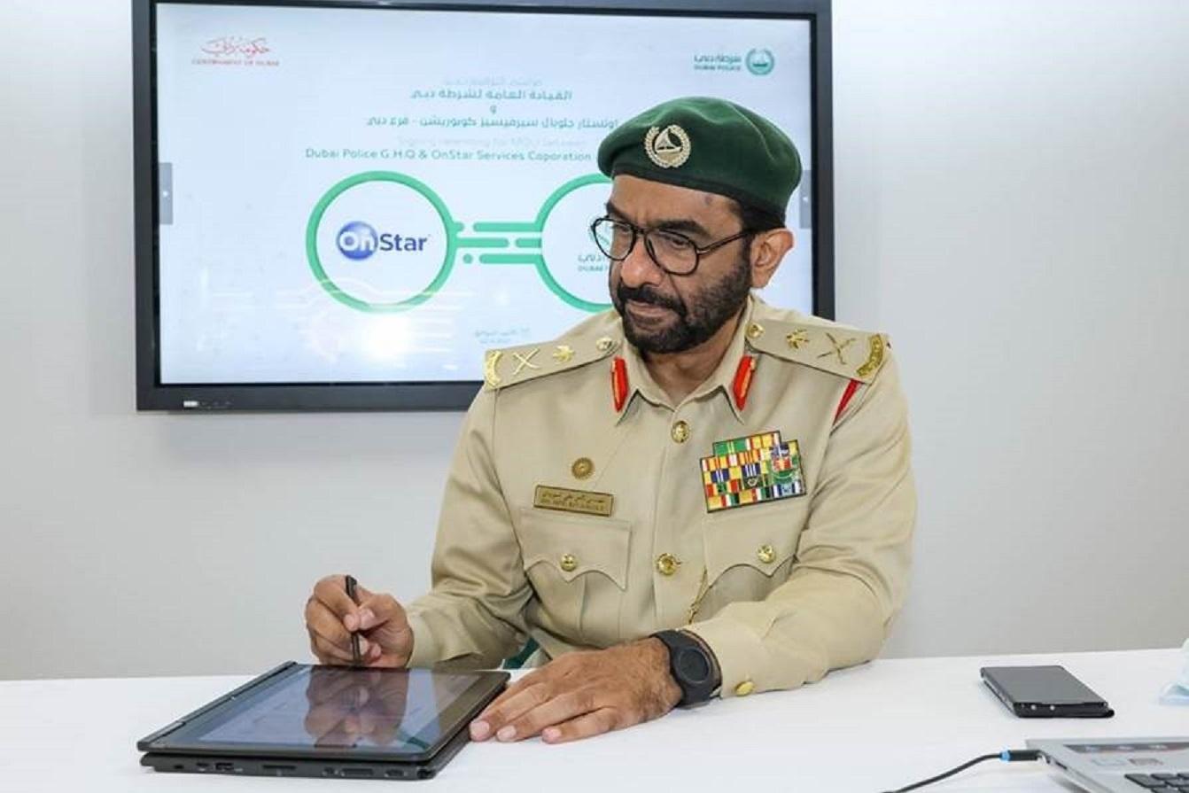 Dubai Police and General Motors Sign Memorandum of Understanding Towards Enhancing Road Safety Through OnStar Technology