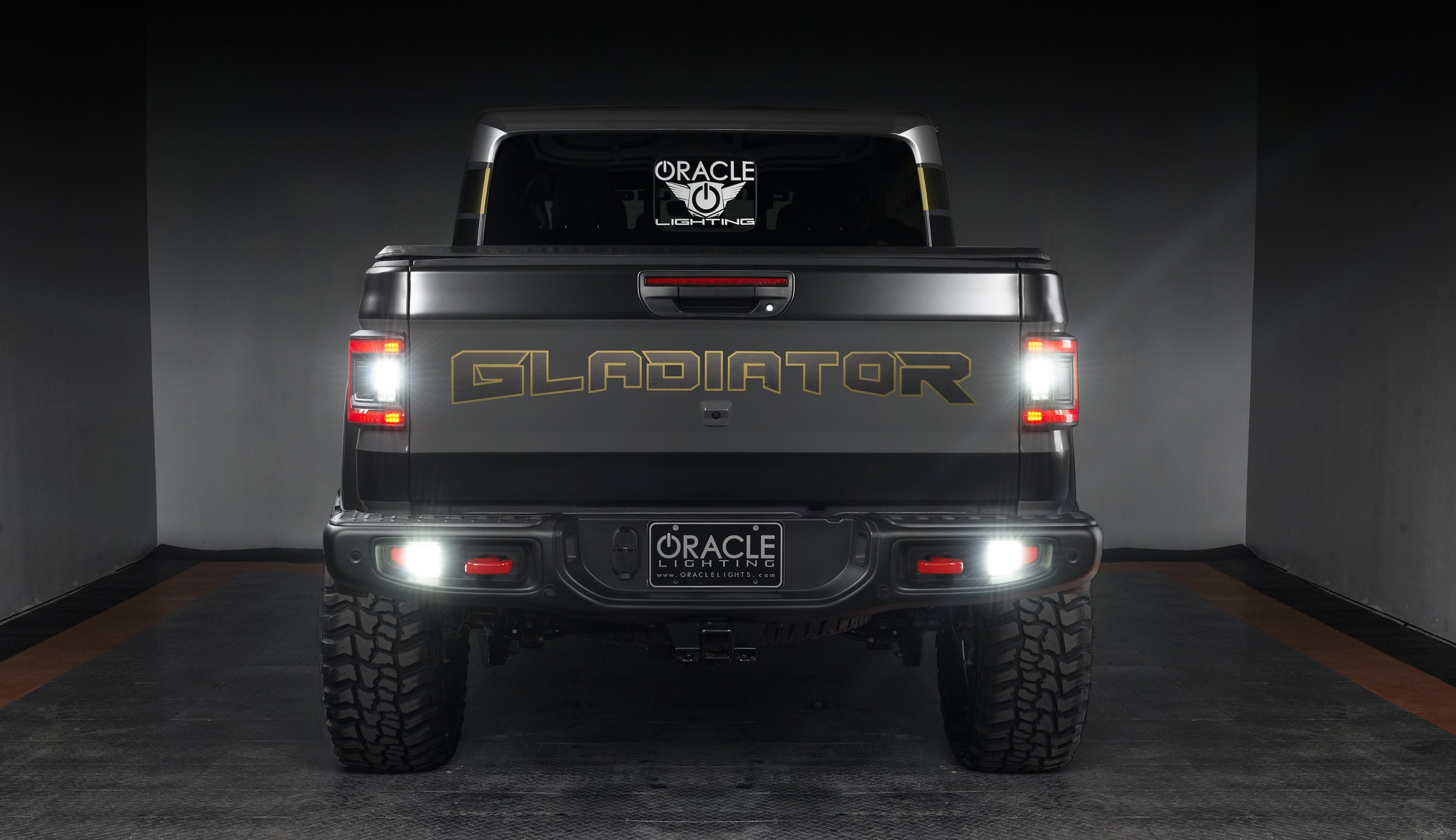 Oracle Lighting Features New Rear  Bumper LED Reverse Lights for Jeep  Gladiator JT & JL at 2021 SEMA Expo