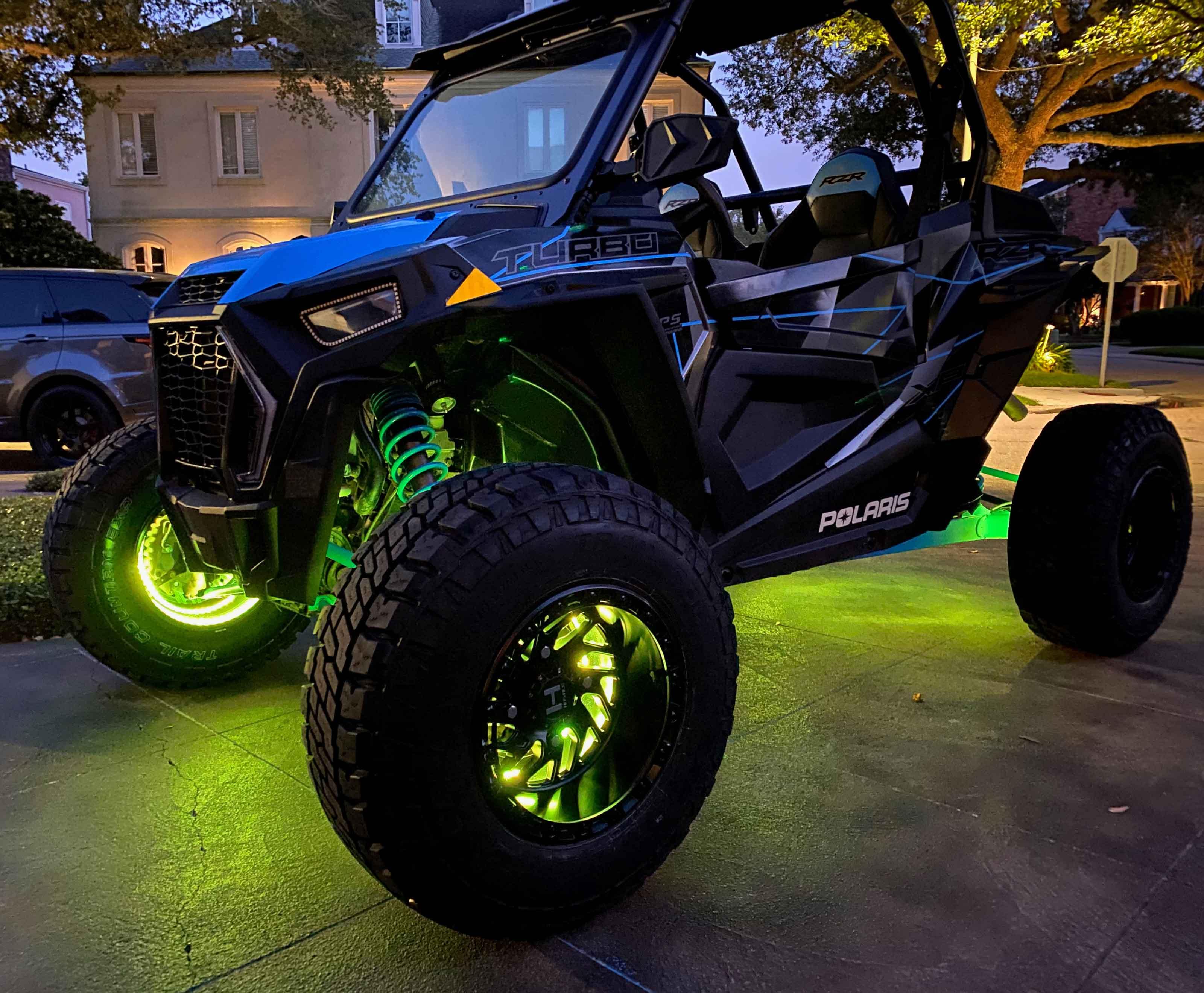 Oracle Lighting Announces Powersports Illuminated LED Wheel Rings